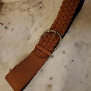 XS/S Banana Republic cognac leather belt